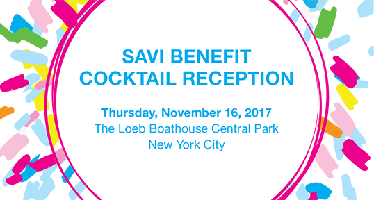 Image of 2017 SAVI Benefit invitation