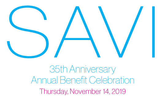 Image of 2018 SAVI Benefit invitation